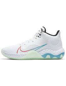 バスケットシューズ バッシュ ナイキ Nike Renew Elevate Wht/Blk/Grn