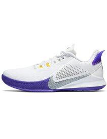 """バスケットシューズ バッシュ ナイキ Nike Kobe Mamba Fury EP """"Lakers"""" Wht/Purple/Yel"""