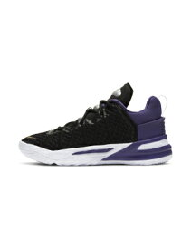 "バスケットシューズ バッシュ ナイキ Nike Lebron 18 PS ""Lakers"" PS Blk/Metallic Gold/C.Purple/Wht 【PS】"
