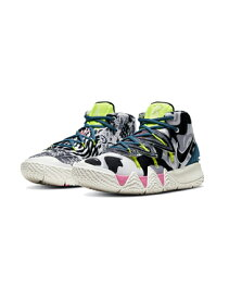 """バスケットシューズ バッシュ ナイキ Nike Kybrid S2 GS """"What The Inline"""" GS Vast Gry/Sail/Volt/Blk 【GS】キッズ"""