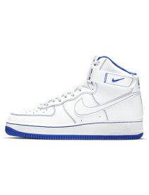 """バスケットシューズ バッシュ スニーカー ナイキ Nike Air Force 1 High '07 """"Royal Blue"""" Wht/Royal Blue ストリート"""