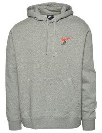 バスケットパーカー ウェア 秋冬物 ナイキ Nike Nike Sneakers Pullover Hoodie Gry/Red ストリート 【MEN'S】