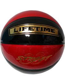 バスケットボール 7号球 バスケットボール ストリート33 ライフタイム LIFE TIME Ball Street33 Blk/Red Pate