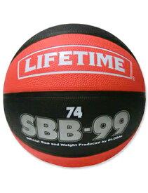 バスケットボール 7号球 ライフタイム ラバー ボール ライフタイム LIFE TIME Ball Rubber SBB-RB7 Red/Blk