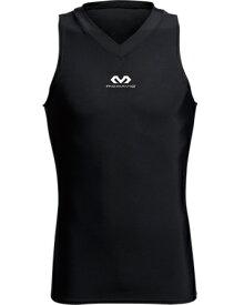 バスケットサポーター インナー トップ ボディ Vネック マクダビッド McDavid Body V-Neck Blk ランニング トレーニング