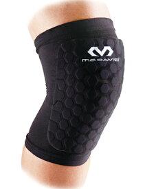 バスケットサポーター 膝 肘 太もも ふくらはぎ ヘックスパッド スリーブ マクダビッド McDavid HexP Sleev 2Pcs Blk. Leg
