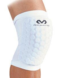 バスケットサポーター 膝 肘 太もも ふくらはぎ ヘックスパッド スリーブ マクダビッド McDavid HexP Sleev 2Pcs Wht.Leg
