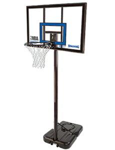 バスケットバックボード  ハイライト ポータブル バスケットゴール  スポルディング Spalding NBA Highlight Portable Basketgoal Clear
