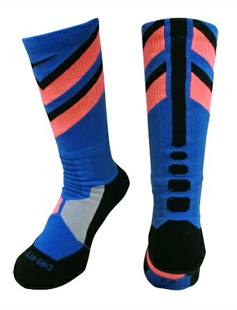 バスケットソックス ウェア クルーソックス ナイキ Nike Socks HyperElite Chase Crew Blu