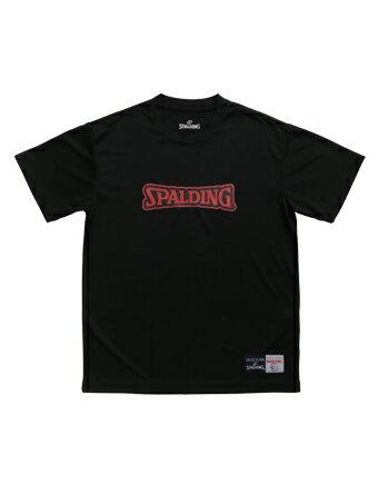 バスケットTシャツ ウェア ティーシャツ SD スポルディング Spalding T-Shirts-SD Blk/Red 【MEN'S】