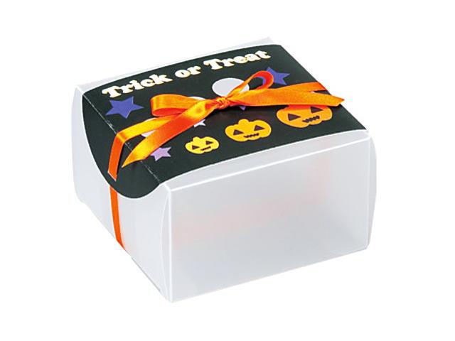 ハロウィン クリアケース о製菓道具_お菓子作りアイテム_デコレーションツール_手作りハロウィンスイーツを簡単ラッピング