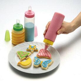 なんでもプシュプシュ о製菓道具_お菓子作りアイテム_口金_セット_手軽に楽しくデコレーション7種の絞り口付き