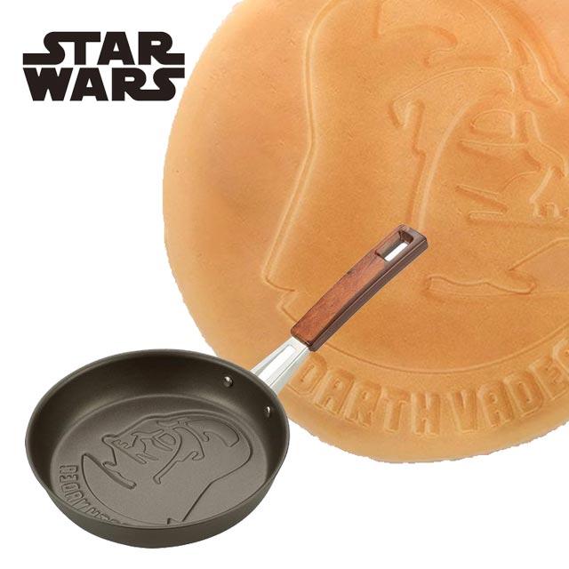 スター・ウォーズ ミニフライパン ダース・ベイダー/STAR WARS フライパン ホットケーキ パンケーキ 小さい コンパクト ガス火専用