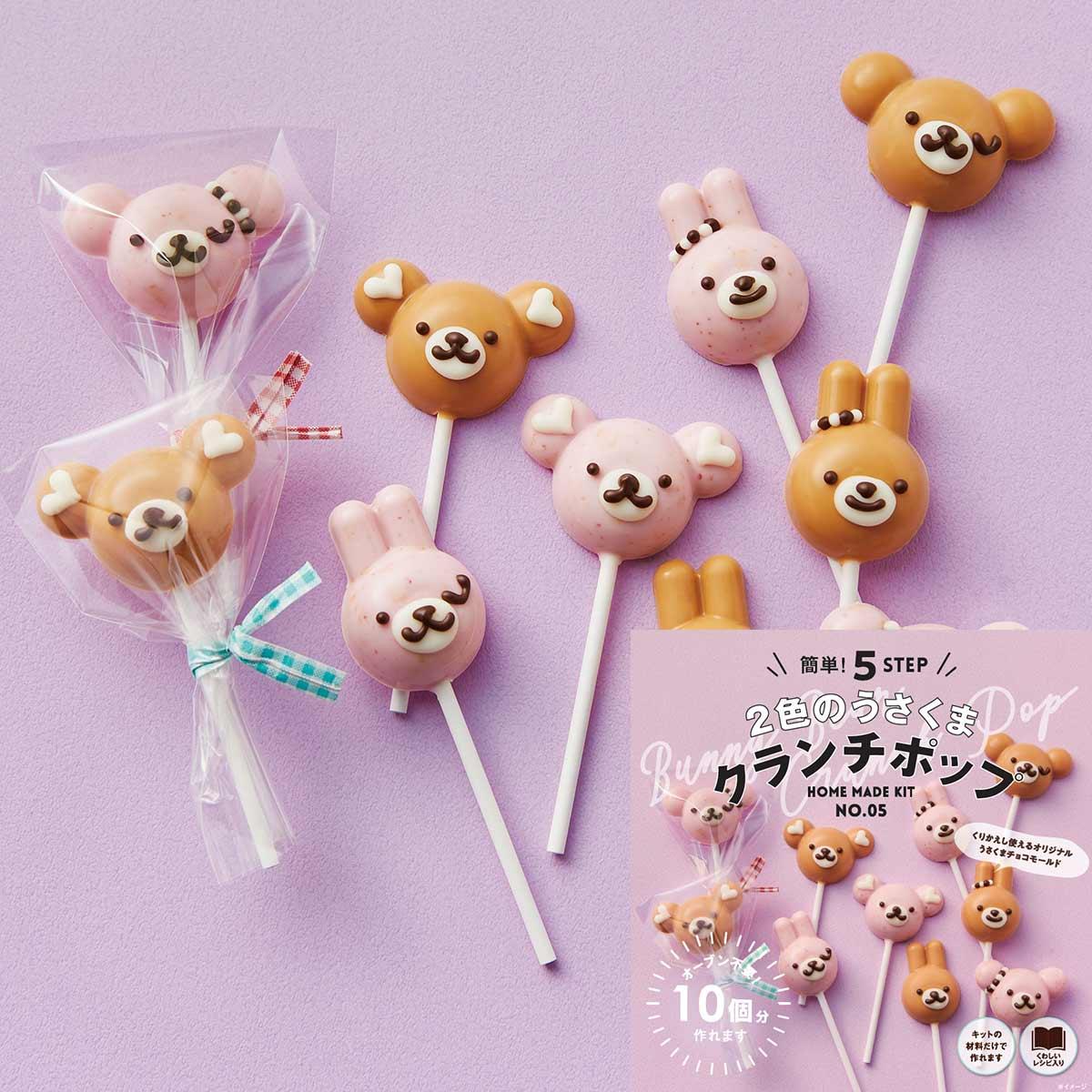 30個作れる手作りキット チョコケーキポップ ロリポップ ラッピング付き ロリポップ 簡単 友チョコ かわいい 可愛い 友チョコ バレンタイン 手作り 製菓 手作りキット