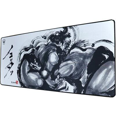 アートデザインゲーミング大型XXLマウスパッド水墨画相撲ノコッタ900×400×3mmゲーミング超大型ゲーミングラージマウスパッド滑り止めキーボードパッドオフィスレーザーマウス光学式マウス対応