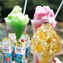 天然着色料のかき氷シロップ1L(果汁入り・保存料不使用) 桃 / マンゴ / 日向夏 / 苺 / メロン 果汁を30%以上使用 合成着色料や保存料不使用の自然派シロップ