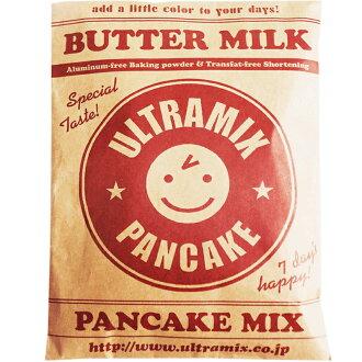 國內牛奶與原始的超低混合,煎餅混合 200 g