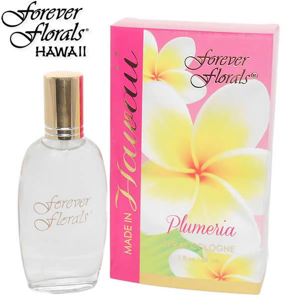 【フォーエヴァーフローラルズ】【Forever Florals】スプレーコロン『プルメリア』 30ml【香水】Hawaii ハワイ雑貨 ハワイアン ハワイアン雑貨