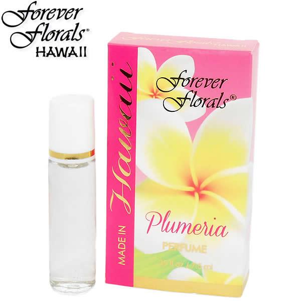【フォーエヴァーフローラルズ】【Forever Florals】パヒュームエッセンス『プルメリア』 7.5ml【香水】Hawaii ハワイ雑貨 ハワイアン