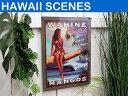 【ハワイアン 雑貨】メタルサインプレートWAHINE BRAND MANGOS【Hawaii】【看板】【標識】【ハワイ 雑貨】【ハワイアン】【ハワイアン】【ハワ...