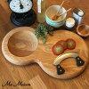木制切菜板 MEZZALUNAR 板 (與 mecchalerna 刀)