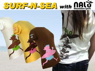 Women's T shirts NALU collaboration TEE No5 SNS NALU CYOLABYO TEE #5 SNSNALUW5