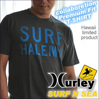 "And collabo ""Harley & サーフアンドシー' collaboration with men's TEE""HALEIWA SURF' MTSPSFHLH"
