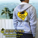 【SURF-N-SEA】【送料無料】【サーフアンドシー】【サーフィンシー】メンズ サーファーXingフーディーZipパーカHawai…