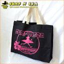 【SURF-N-SEA】レトロハイビスカスレギュラー トートバッグRetro Hibiscus Regular Tote Bag【サーフアンドシー】【H…