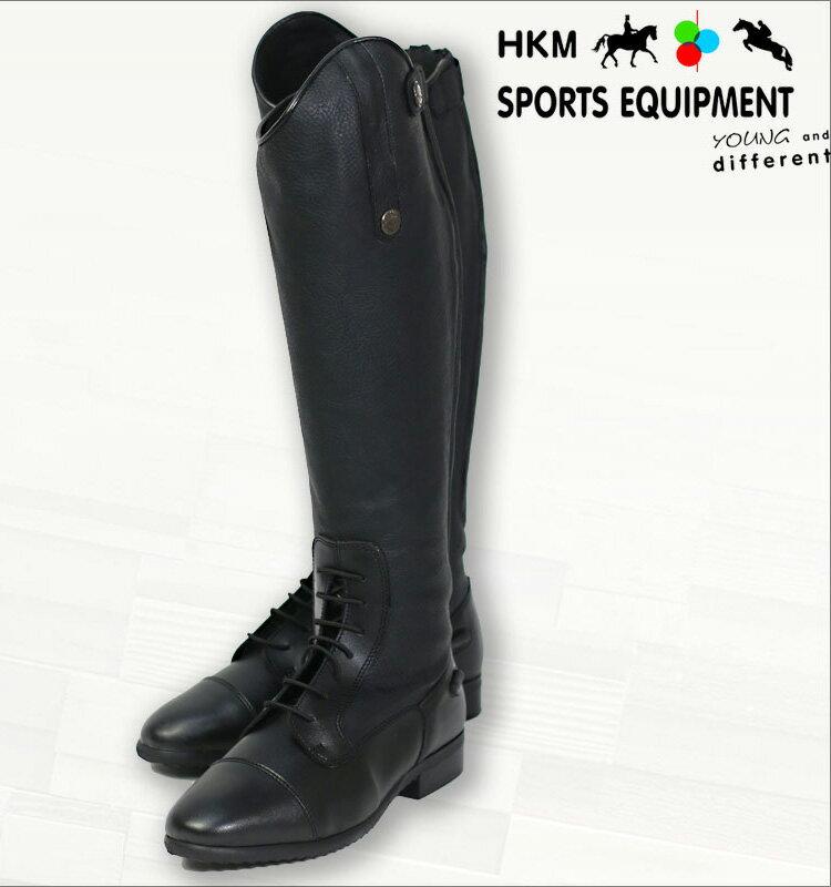 【乗馬用ブーツ】シンセティックレザーライディングブーツ-TOKIO