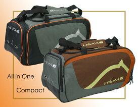 【乗馬用品収納バッグ】 HEXAコンパクトバッグ (乗馬用品収納バッグ)