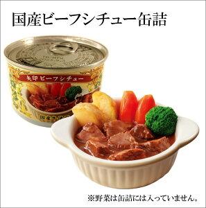 矢印ビーフシチュー国産牛肉使用缶詰 4個入 【送料無料】