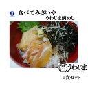 ケンミンショー■うわじま鯛めし 愛媛宇和島 鯛めし5食セット(秀長水産)■健康真鯛を使用 素朴で豪快なふるさと…