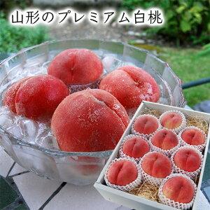 山形のプレミアム白桃3kg(9〜12玉)