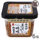 まぼろしの味噌 熟成麦 500g×6袋 熊本県 九州 復興支援 人気 調味料 条件付き送料無料
