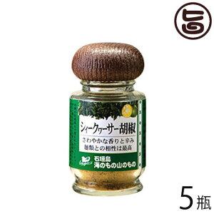 シークヮーサー胡椒 (粉タイプ) 14g×5瓶 沖縄 人気 土産 ノビレチン 調味料 フルーツ  送料無料
