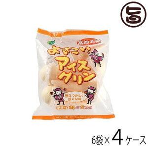 よさこいアイスクリン 5本入×6袋×4ケース 高知県 四国 デザート 懐かしい ご当地アイス 冬アイス 送料無料
