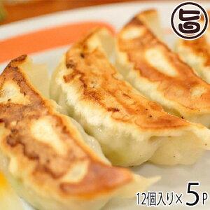 ギフト フレッシュミートがなは 山原豚(琉美豚) 白豚ギョウザ 12個入り×5P 沖縄 土産 アグー 貴重 肉 ビタミンB1 条件付き送料無料