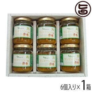 ギフト うないの マンゴージャム 6個セット (ギフト箱入) 沖縄 土産 無添加 無着色  送料無料