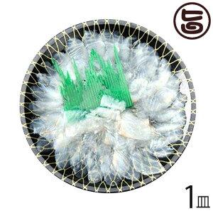 天然 ヒラメの薄造り1〜2人前90g×1皿 島根県 新鮮 人気 希少 条件付き送料無料