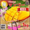 沖縄マンゴー1kg贈答用優3玉送料無料沖縄フルーツ高級完熟ギフトお中元おすすめ