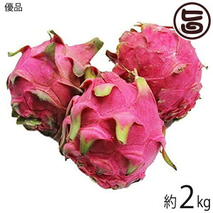 優品 沖縄産 ピタヤ レッドドラゴンフルーツ 約2kg 沖縄 フルーツ お土産 条件付き送料無料
