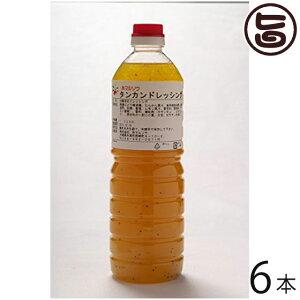 たんかんドレッシング 1L×6本 沖縄 お土産 ご当地 人気 業務用 おすすめ みかん 果物 美味しい 送料無料