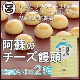 阿蘇のチーズ饅頭 10個入り×2箱 条件付き送料無料 熊本県 九州 復興支援 人気 和菓子 熊本銘菓