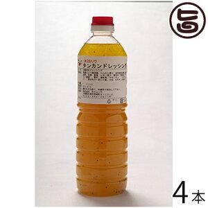 たんかんドレッシング 1L×4本 沖縄 お土産 ご当地 人気 業務用 おすすめ みかん 果物 美味しい 送料無料