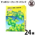 沖縄特産販売株式会社すっきりシークヮーサードリンク200ml×24P送料無料