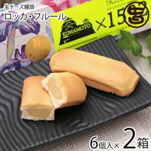あそりんどう ロッカ・フルール 6個入り×2箱 生 チーズ饅頭 (ヒゴクニ) 熊本 土産 熊本土産  条件付き送料無料