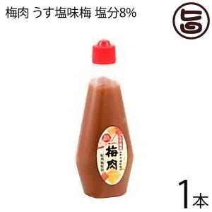 濱田 梅肉 うす塩味梅 (塩分8%) 340g×1本 梅肉ソース 梅肉チューブ クエン酸 リンゴ酸 マツコの知らない世界 条件付き送料無料
