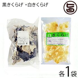 座間味こんぶ 白きくらげ 黒きくらげ 50g×各1P 食物繊維 ビタミン 送料無料