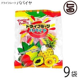 豊物産 ドライフルーツ パパイヤ 150g×9P 食物繊維 ミネラル豊富 送料無料